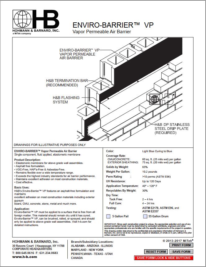 Enviro-Barrier VP - Triumph Construction Supply